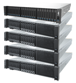 Inspur Xeon D Storage Server NF5280M5-GPUBOX