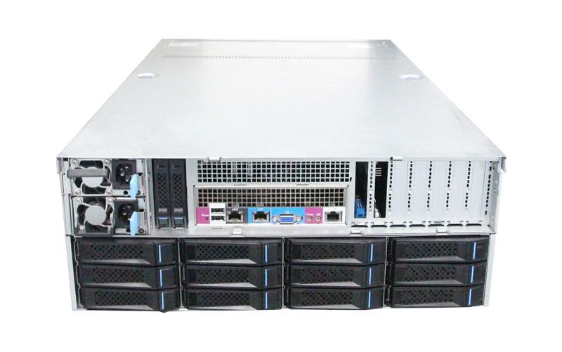 Inspur Xeon D Storage Server SA5224M4 背面